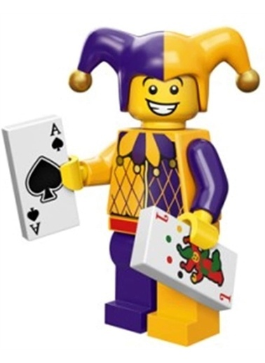 Lego Lego Minifigür - Seri 12 - 71007 - Jester Renkli